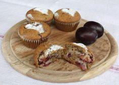 Muffiny so slivkami a makom, Koláče, recept   Naničmama.sk Cupcakes, Breakfast, Recipes, Poppy, Pizza, Morning Coffee, Cupcake Cakes, Ripped Recipes, Muffin