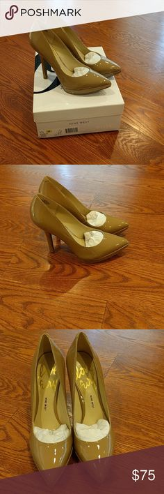 Nine West LoveFuryo Pumps - Brand New Nine West LoveFuryo 5.5M Beige 4.5 Inch Heels - Brand New, Never Worn in Original Box Nine West Shoes Heels
