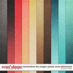 Remember the Magic: PIRATE COVE- COLLECTION & *FWP* by Studio Flergs