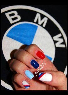 Nailpolis Museum of Nail Art | BMW M Power. by Paula215. NAILS