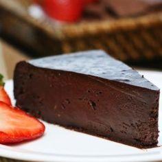 Torta de chocolate harmoniza  com Freixenet Carta Nevada