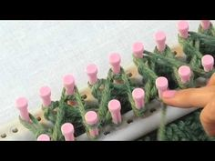 Loom Knitting: How to Knit Ribbing for Double Knitting