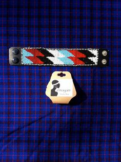emayan on Etsy. Maasai Men's Bracelet