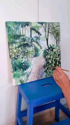 Time lapse painting by Nina Albrecht Videos, Table, Painting, Furniture, Home Decor, Art, Art Background, Decoration Home, Room Decor