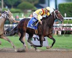 Rachel Alexandra wins the 2009 Woodward. Coglianese Photos