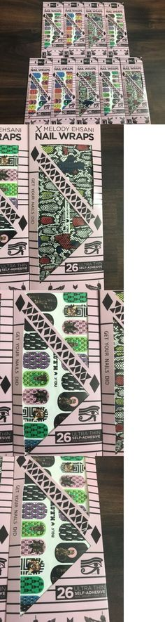Nail Art Accessories: New Ncla Melody Ehsani Nail Wraps Lot Of 9 -> BUY IT NOW ONLY: $35 on eBay!