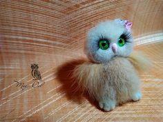 8 отметок «Нравится», 1 комментариев — Anna Magic Owl Flower (@magic.owl) в Instagram: «Крошка сова Лута. #детка #птичка #сова #ручнаяработа #сухоеваляние #шерсть #совушка #совы…»