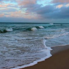 The Crystal Coast which is on the Southern Outer Banks of North Carolina.  Peaceful serenity.