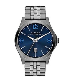 Marc By Marc Jacobs Mens Danny Stainless Steel 3Hand Watch #Dillards