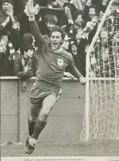 Ray Crawford of Colchester Utd in Ipswich Town Fc, Football, 1970s, Sports, English, Soccer, Hs Sports, Futbol, English Language