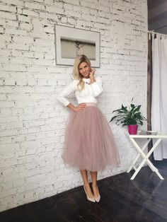 Blush tulle skirt white and blush tulle skirt bride women tulle skirt princess . can find Tulle and more on our website.Blush tulle skirt white and b. White Tutu Skirt, Blush Tulle Skirt, Tulle Wedding Skirt, Tutu Skirt Women, Tulle Skirts, Long Skirts, Black Tulle Skirt Outfit, Long Tutu Skirt, Adult Tulle Skirt
