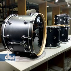 Collector's Series Ebony. #dwdrums #thedrummerschoice
