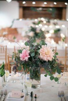 Wedding floral centerpiece -  Watson Studios