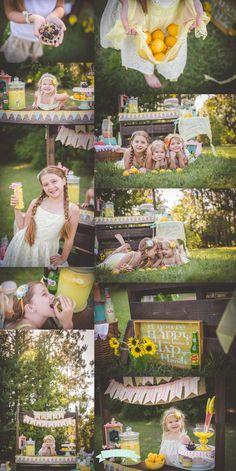 Lemonade Stand Mini Session by Tara Merkler Photography in Central Florida, Orlando, Florida
