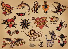 Sailor Jerry Tattoo Flash Free | ... June 14, 2012 at 1007 × 720 in Sailor Jerry Man's Ruin Tour