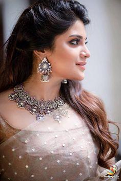 Actress Aathmika Latest Photo Shoot Stills - Social News XYZ Beautiful Girl Indian, Most Beautiful Indian Actress, Beautiful Saree, Indian Actress Hot Pics, Actress Photos, Indian Actresses, Beauty Full Girl, Beauty Women, Black Beauty