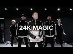 1million dance studio- Bruno Mars 24K Magic hip hop routine