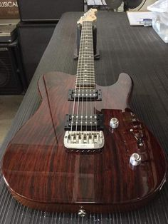 G&L ASAT HH RMC in Natural over cocobolo, empress neck, rear contour, rosewood fretboard, Light Tint Satin finish