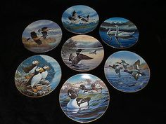 7-Dominion-China-Birds-of-the-North-Collector-Plates-by-Darrell-Bush