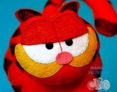 Mimos e Feltrices: Garfield