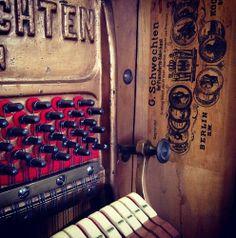 Bechstein upright piano restoration   www.shacklefordpianos.com