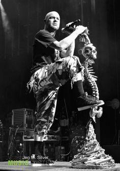 Ivan Moody / Five Finger Death Punch / Metal / Rock / Music Band / Photography // ♥ More at: https://www.pinterest.com/lDarkWonderland/