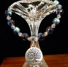 Tree of Knowledge Book Charm Bracelet