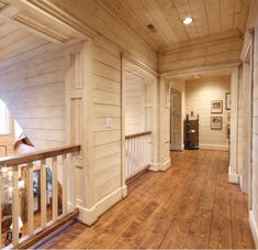 Hallway in a rustic home                                                       …