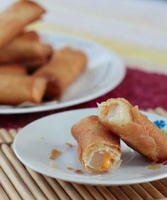 Here's a great way to use all that tikoy from the Chinese New Year. Yes, as turon filling!
