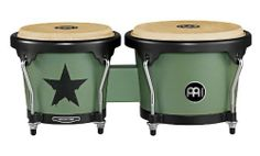 Meinl Headliner Designer Series Bongos Army Issue by Meinl Percussion. $116.53. The MEINL Headliner Designer Series Bongos offer two exciting finishes.  The construction is in the traditional style, with a solid woodblock connection.. Save 31%!