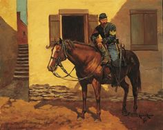 US Cavalry Sgt