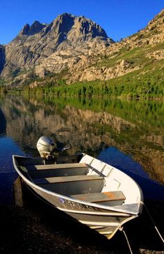 Boat ride, anyone? Photo of Silver Lake in California's Eastern Sierras submitted by Patti Austin Murray.