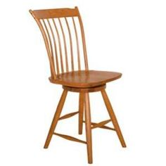 Amish Contemporary Canterbury Windsor Swivel Dining Stool (Shown in Cherry). Caringly hand-built & hand-finished by Mennonite & Amish craftsmen. Available in premium Oak, Maple, & Cherry hardwoods. Full range of durable finishes. Dining Stool online at http://www.mennonite-furniture-studios.com/Amish-Contemporary-Canterbury-Windsor-Swivel-Dining-Stool/ with matching Counter Stool at http://www.mennonite-furniture-studios.com/Amish-Contemporary-Canterbury-Windsor-Swivel-Counter-Stool/
