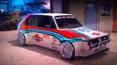 Martini ones. Legitim since the Gulf was drawn by the same man who was also . - Martini ones. Legitim since the Gulf was drawn by the same man who was responsible for the delta. Volkswagen Golf Mk1, Scirocco Volkswagen, Vw Mk1, Golf 1 Cabrio, Allroad Audi, Vw Classic, Martini Racing, Vw Cars, Amazing Cars