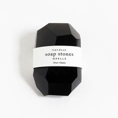 Soap Stones by PELLE: Onyx/Cassia Stone 6oz by PELLE