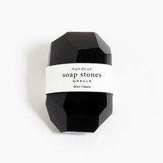 Soap Stones by PELLE: Onyx/Cassia Stone 6oz by PELLE