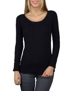Full Sleeved Round Neck Woolen Top-id.30649