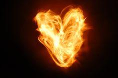 My work; my heart on fire.
