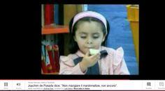 "Non mangiare il ""marshmallow"" / Don't eat the marshmallow!"