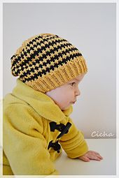 When the sun goes down hat - knitting pattern