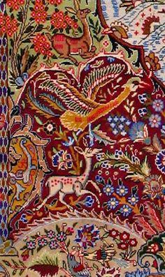 "Kashmar Persian Rug, Buy Handmade Kashmar Persian Rug 9' 10"" x 13' 3"", Authentic Persian Rug"