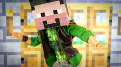 My Froggy Stuff: How to Make Minecraft for your Dollhouse