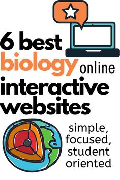 Six Best Interactive Biology Websites! - Teach Every Day : Six Best Interactive Biology Websites! - Teach Every Day High School Biology, Biology Teacher, Ap Biology, Science Biology, Science Facts, Teaching Biology, Middle School Science, Physical Science, Science Education