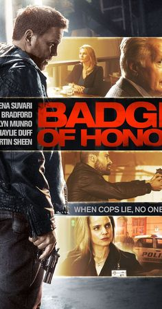 "Directed by Agustin.  With Martin Sheen, Mena Suvari, Jesse Bradford, Lochlyn Munro. Two Narcotics Detectives find themselves in an intense investigation lead by a determined Internal Affairs Detective after a child is wrongfully shot dead in a violent drug bust. ""Solid story, cast and performances make this straight-to-video cop drama worth a watch."""