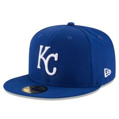 Men s Kansas City Royals New Era Royal Title Detailer 59FIFTY Fitted Hat 541715e79270