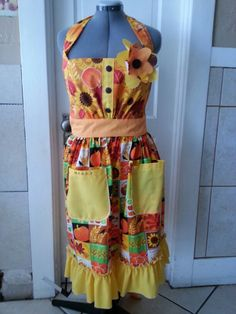 Thanksgiving apron personalized