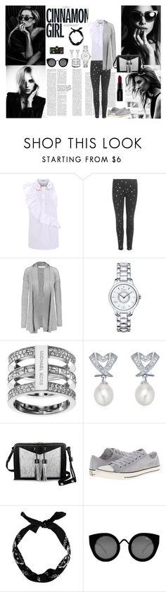 CINNAMON GIRL by ines-varela-haillot on Polyvore featuring moda, Amanda Wakeley, VIVETTA, STELLA McCARTNEY, Converse, Carianne Moore, Christian Dior, Michael Kors, Quay and Smashbox