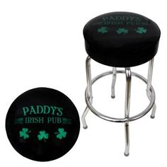 The officially licensed Paddy's Pub bar stool from It's Always Sunny in Philadelphia is proudly made in the USA.  Get one for only $99.95.