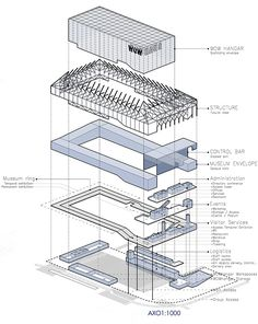 Architectural Diagram Effective Pictures We Offer You About Cultural Architecture photography A quality picture can tell you many things. You can find the most beautiful pictures that can be p System Architecture, Architecture Concept Drawings, Cultural Architecture, Architecture Graphics, Architecture Details, Architecture Program, Architecture Diagrams, Axonometric View, Axonometric Drawing