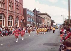 Oldham Carnival 1970s Union street
